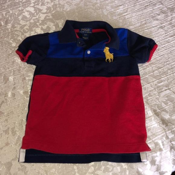Lauren Toddler Ralph 2t Size From Polo Shirt 3RLqcA45j